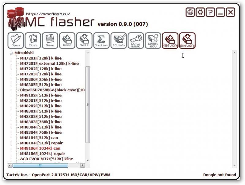 Module 5 MMCFlasher - Yamaha 4-stroke boat engines Fxxx and
